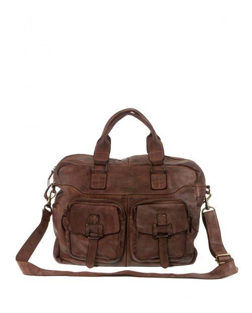 bolsa de viaje atlas marrón