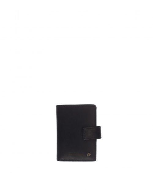 atlas / tarjetero piel lavada negro 1