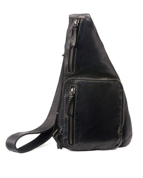 mochila cruzada tichi negra