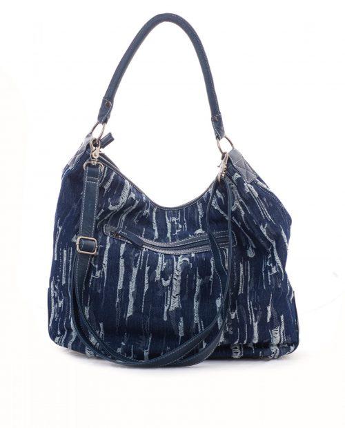 adhara 1002 / bolso grande lona azul -