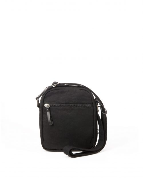 ALTAIR Bolso bandolera de hombre Stamp en nylon lavado color negro BHST04949NE STAMP 1