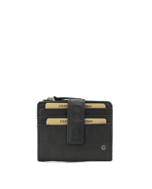 ATLAS-Tarjetero de piel Stamp color negro-MHST00420NE-STAMP