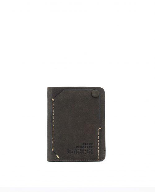 NAOS-Billetero de piel vacuno Stamp color marrón-MHST02798MA-STAMP