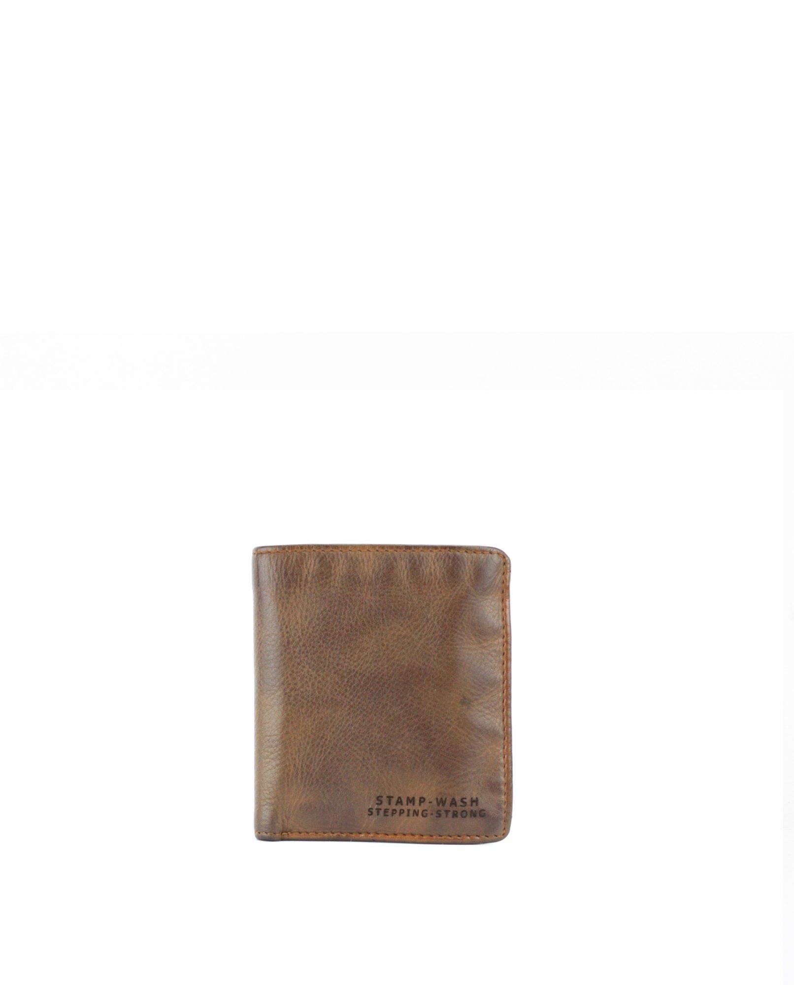 TICHI-Billetero de piel Stamp color cuero-MHST11928CU-STAMP