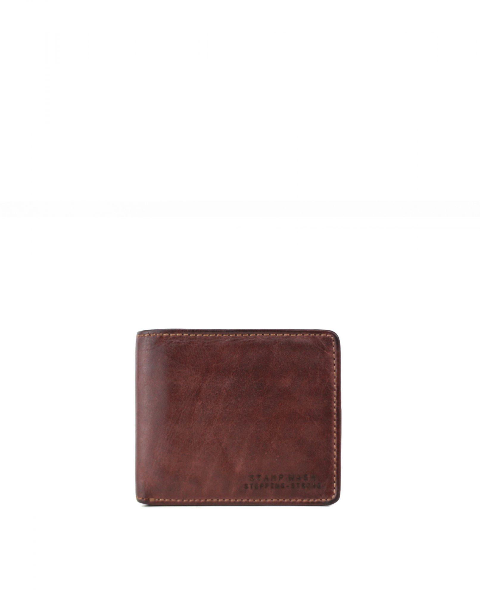 TICHI-Billetero de piel Stamp color líbano-MHST11986LB-STAMP