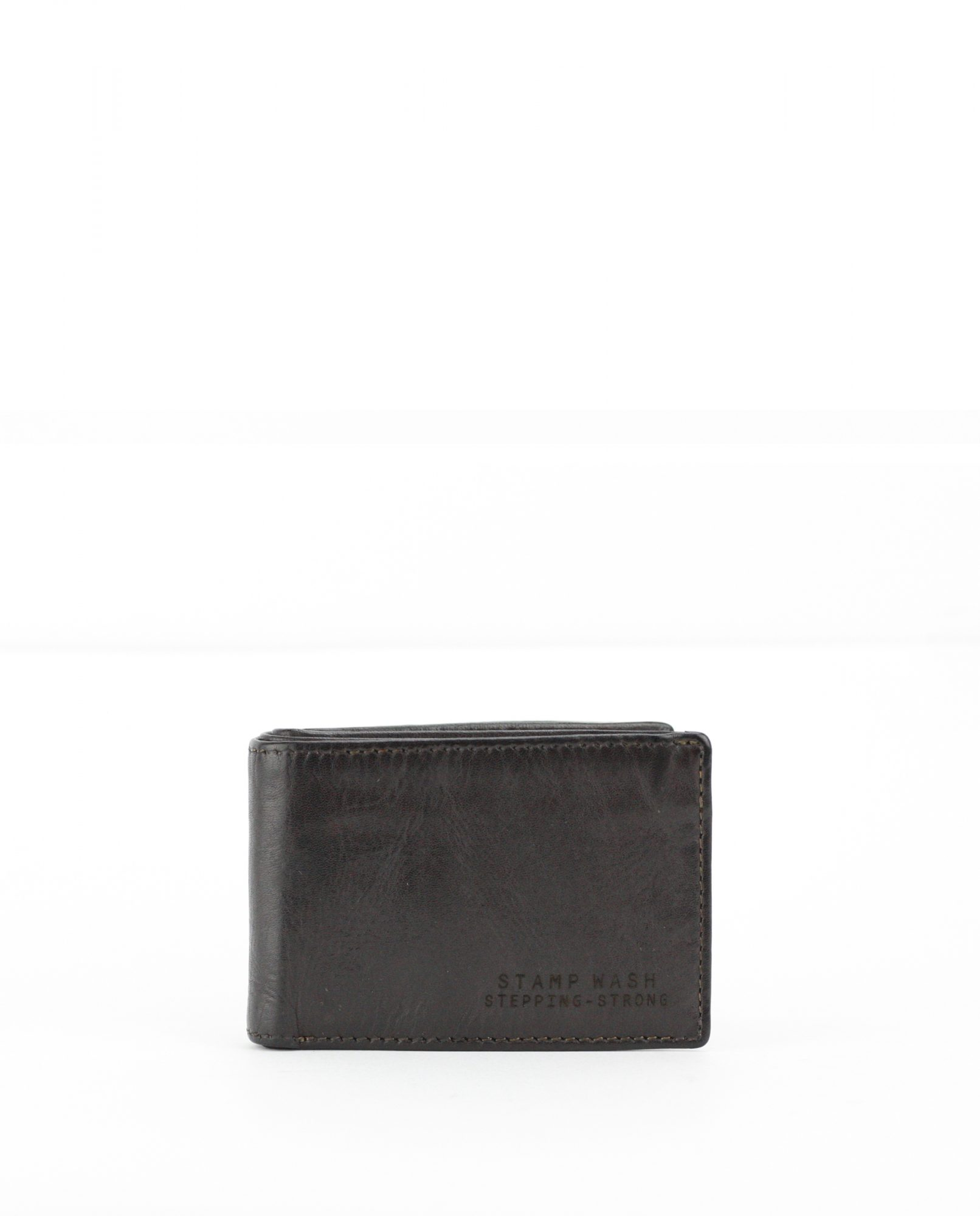 TICHI-Billetero de piel Stamp color marrón-MHST11985MA-STAMP