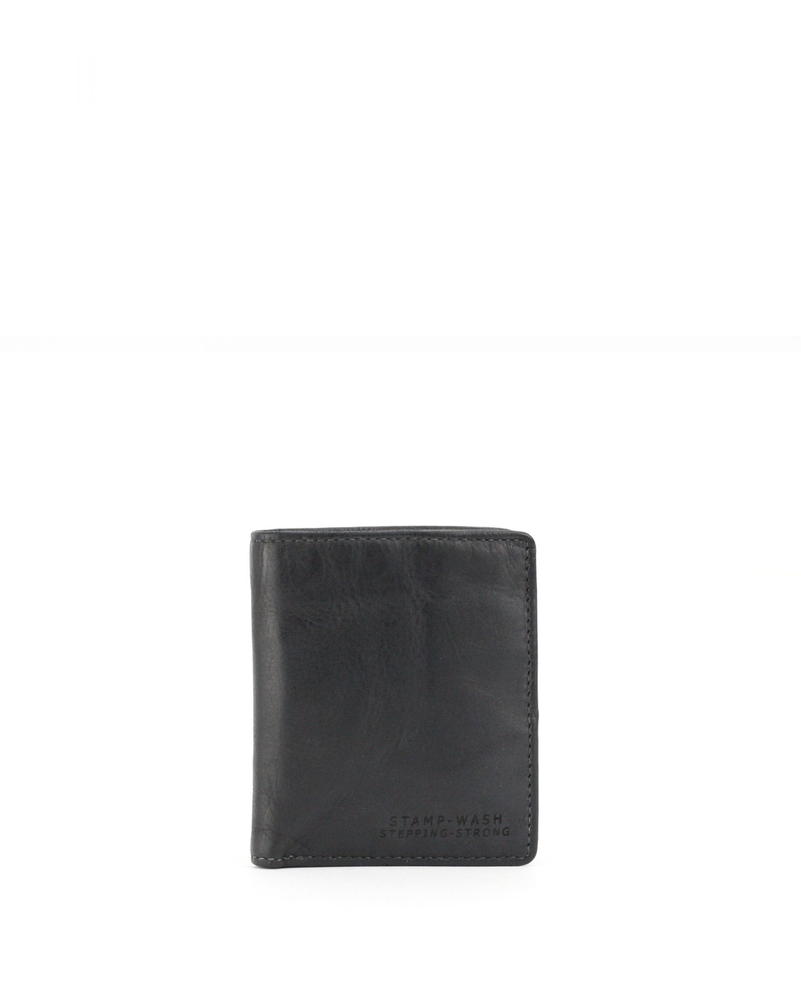 TICHI-Billetero de piel Stamp color negro-MHST11928NE-STAMP