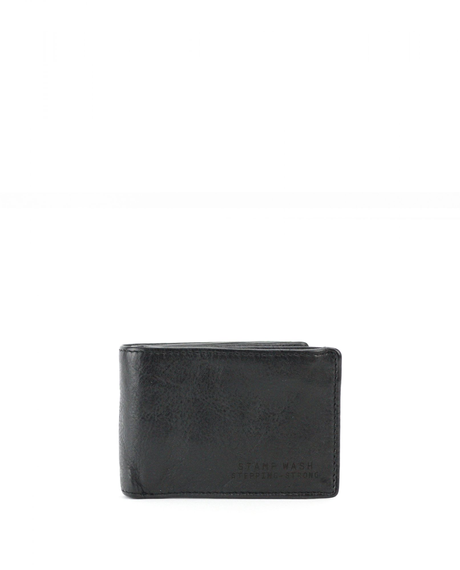 TICHI-Billetero de piel Stamp color negro-MHST11985NE-STAMP